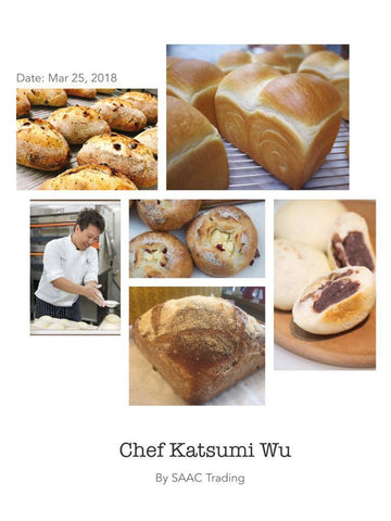 25 Mar 2018 The Artisan Bread Selection with Taiwanese Chef Katsumi Wu (吳克己)