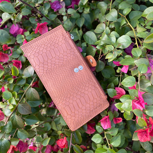 Marshal Wallet for Women (Tan Croc)