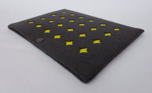 Grid - iPad Mini Sleeve - Yellow