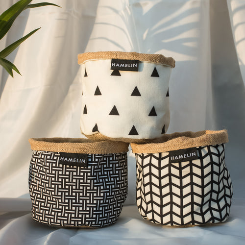 Chic Planter Wraps Mini - Gift Set (Willow)