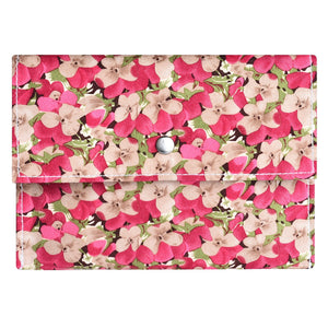 Pink Floral - Sanitary Pouch for Women