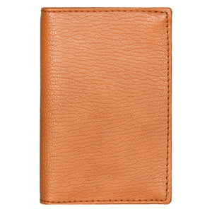 Slim Card Wallet - Light Brown