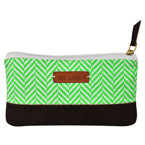 Green Chevron - Multi-purpose pouch