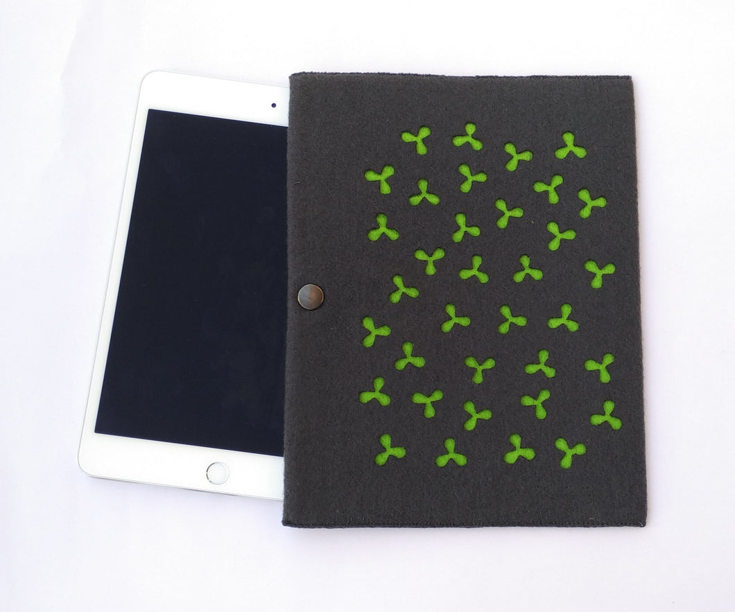 Bloom - iPad Mini Sleeve - Green