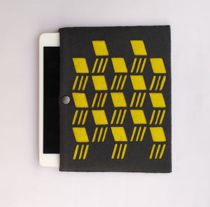 Archi - iPad Mini Sleeve - Yellow