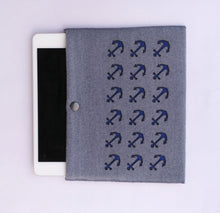 Harbour - iPad Mini Sleeve - Blue