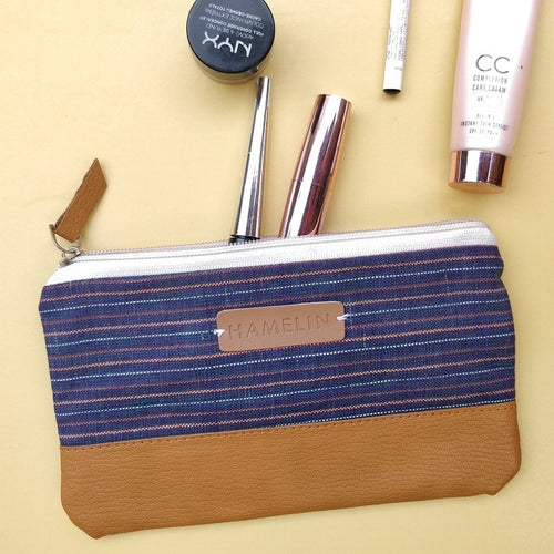 Handwoven Khadi - Multi-purpose pouch