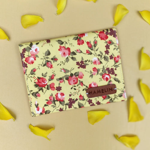 Wild Yellow - Sanitary Pouch for Women