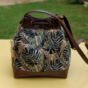 The Bucket Bag - Green Maple