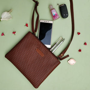 The Everyday Sling Bag - Brown