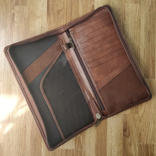 Ultimate RFID Blocking Travel Document Organizer (Caramel)