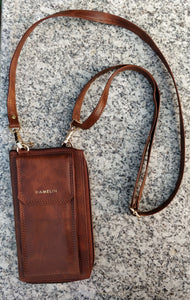 The Mobile Sling Bag - Caramel - FINAL SALE