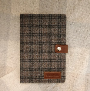 Tweed Journal (Tawny Check Twill) - FINAL SALE
