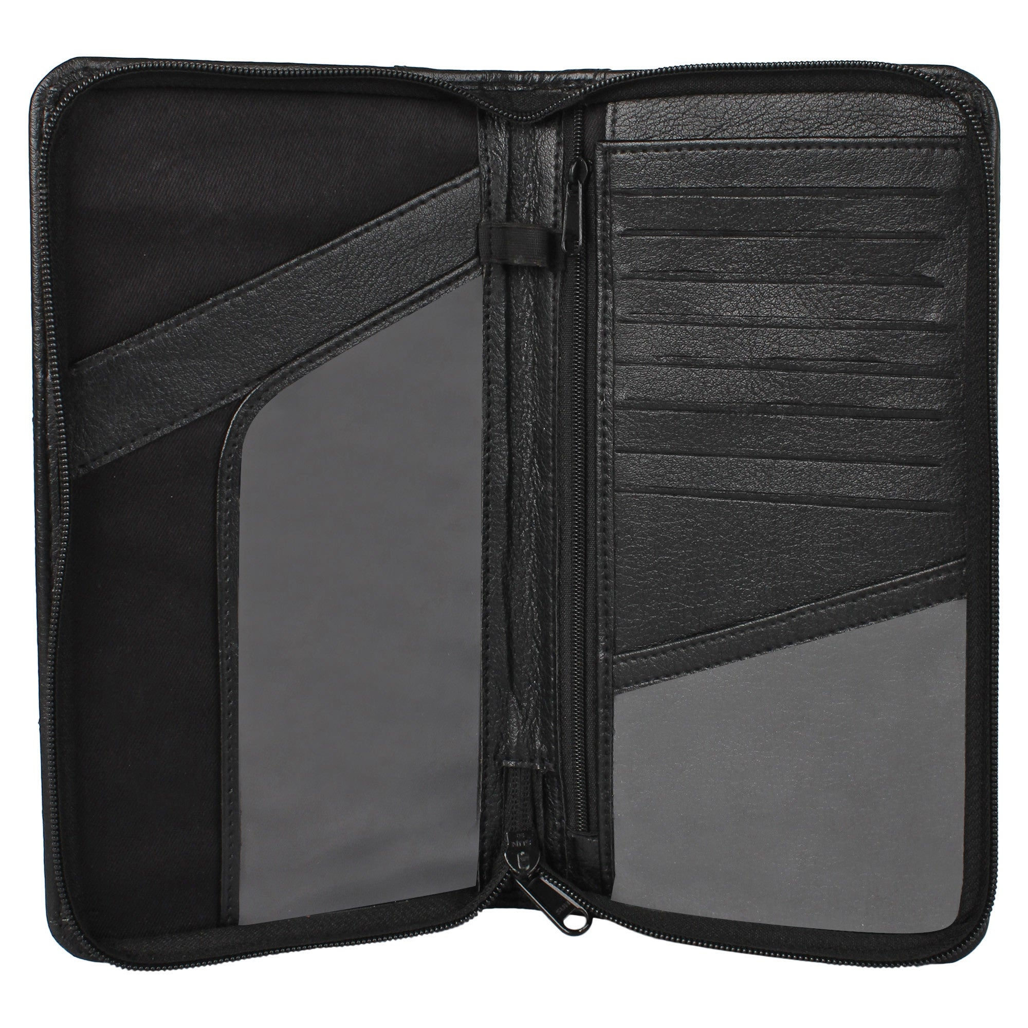05999f915e4f Ultimate Travel Document Organizer - Vegan Leather (Black) – Hamelin