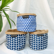 Chic Planter Wraps Mini - Gift set (Indigo)