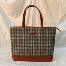 Tweed Work Tote for Women (Anchor Check Twill)