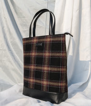 Tweed Work Tote for Women (Sylvan Plaid)