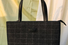Tweed Work Tote for Women (Charcoal Twill)