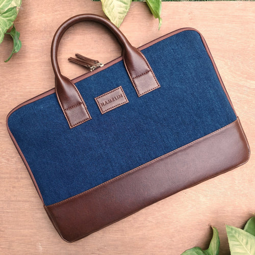 Elon Laptop Sleeve - Denim