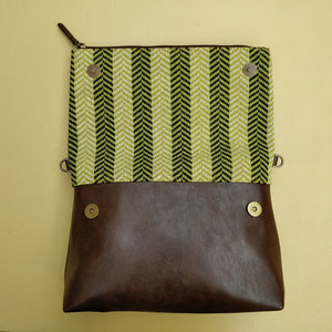 Fold Over Sling Bag - Shamrock