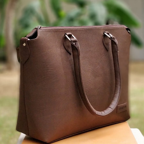 Essentials - Dark Brown Tote Bag for Women - FINAL SALE