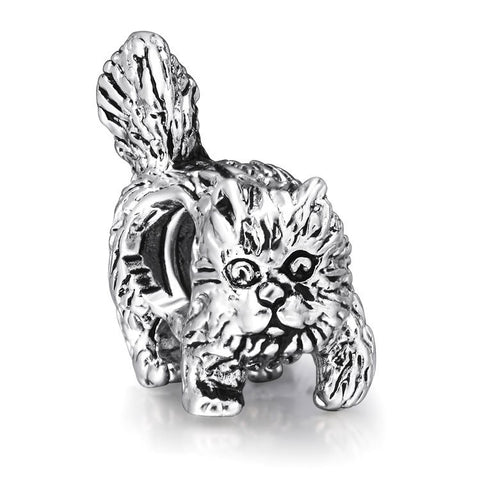 Antique Style Cat Charm