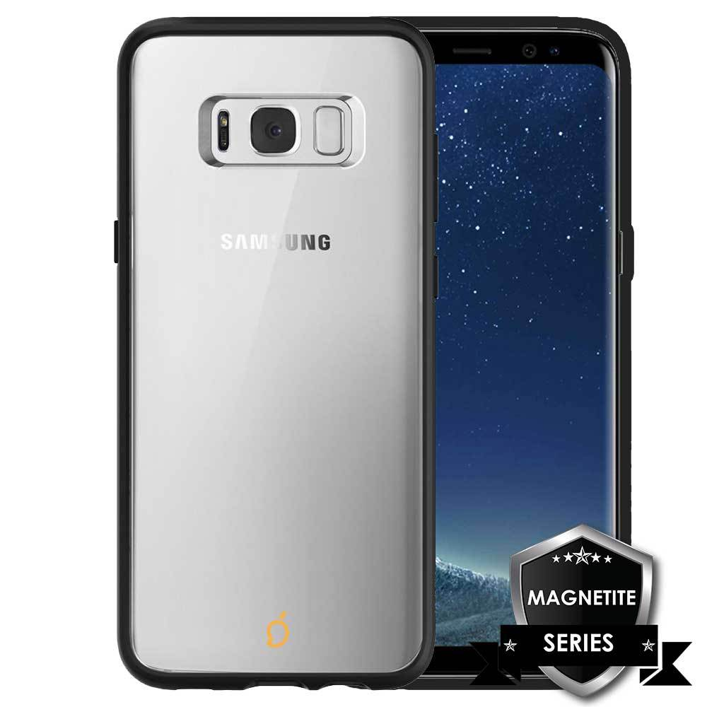 huge selection of 49d55 e5a02 Mangomask™ MAGNETITE SERIES - Protective Ultra Slim Magnetic Case suitable  for Samsung Galaxy S8 Plus - Clear Thin, Metal Bumper Phone Cases with ...