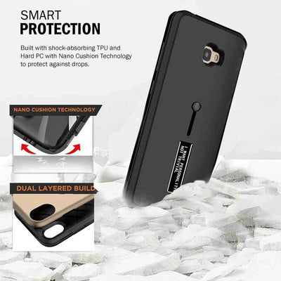 buy online d395f 3258e Buy Samsung Galaxy J7 PRIME Personality/ Dual Layer Finger Ring Loop ...