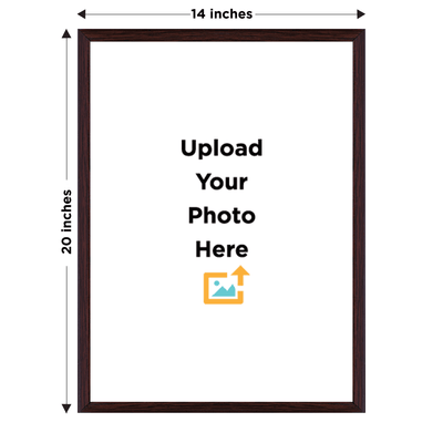 Photo Frame Mangomask Custom Printed Photo Frame (Size 20 X 14 inches)