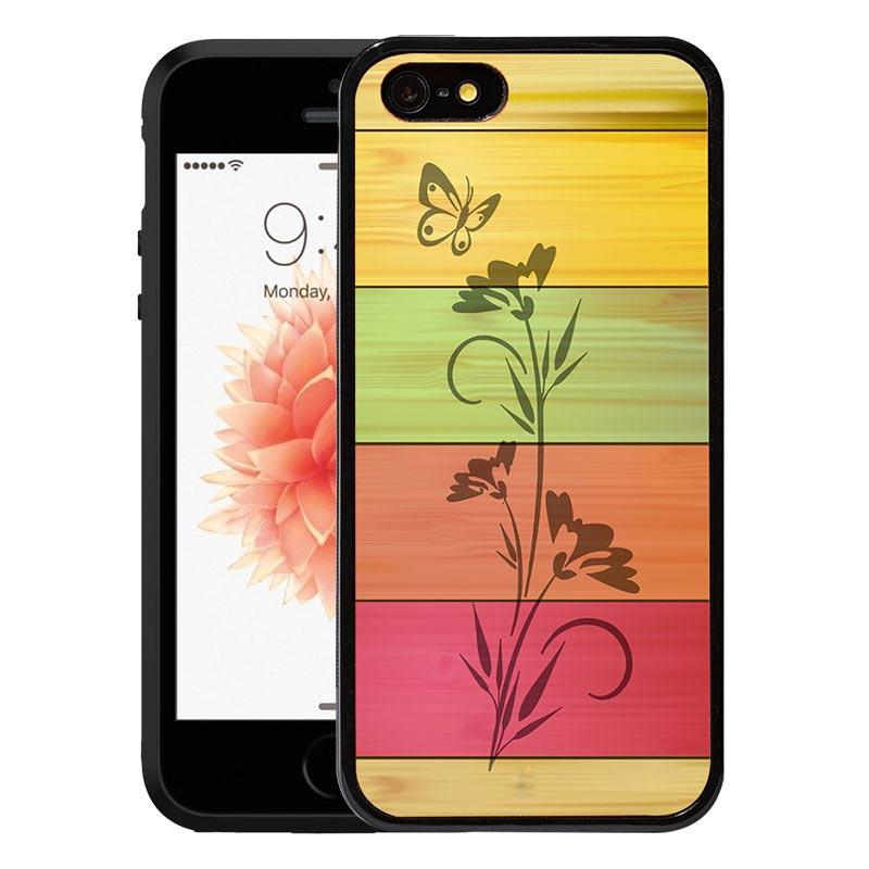 watch 7034f 18eba IPhone 5/5s/SE Real Wood Mobile Phone Cases Back Covers