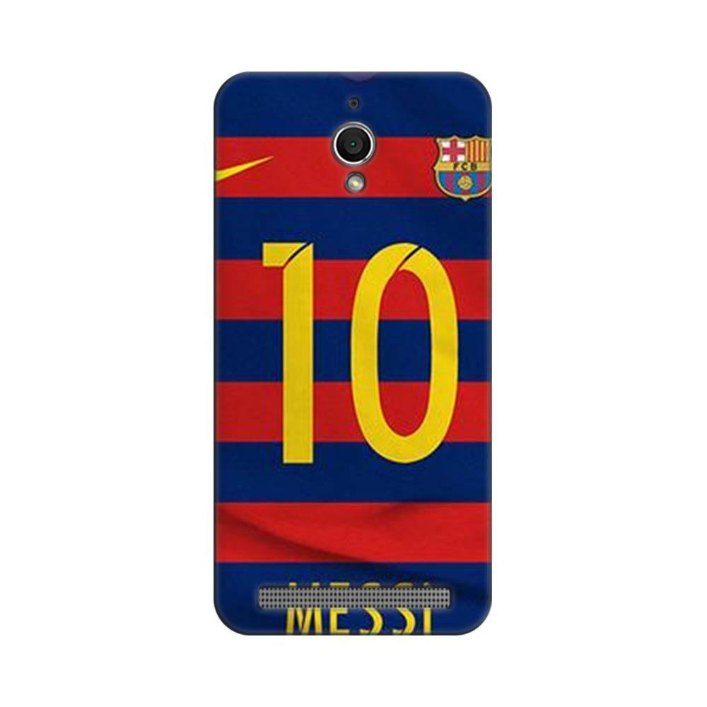 sports shoes f1ce4 d26cf Mangomask Asus ZenFone GO Mobile Phone Case Back Cover Custom Printed  Designer Series Soccer Messi One