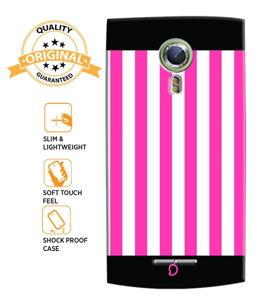 watch 0c9b6 45306 Mangomask Alcatel One Touch Flash 2 Mobile Phone Case Back Cover Custom  Printed Neon Series Brink pink Striped Seven