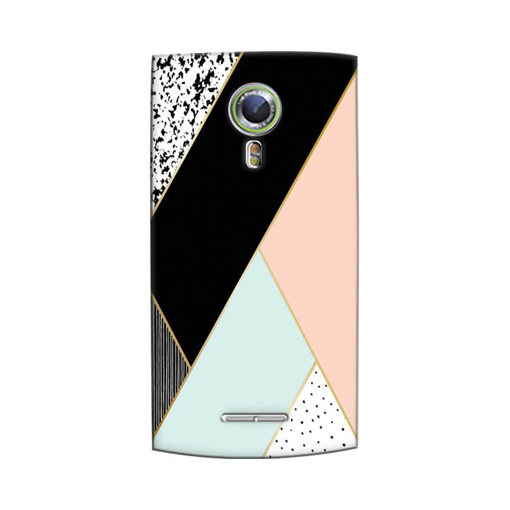 new styles d696d 04835 Mangomask Alcatel One Touch Flash 2 Mobile Phone Case Back Cover Custom  Printed Designer Series Zig Zag Two