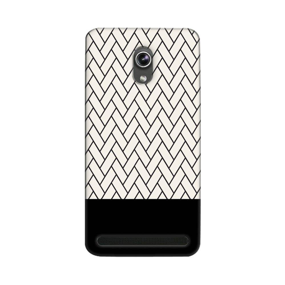 best service 0e23c 6677f Mangomask Asus ZenFone 5 Mobile Phone Case Back Cover Custom Printed  Designer Series White And Black Boxes Pattern Two