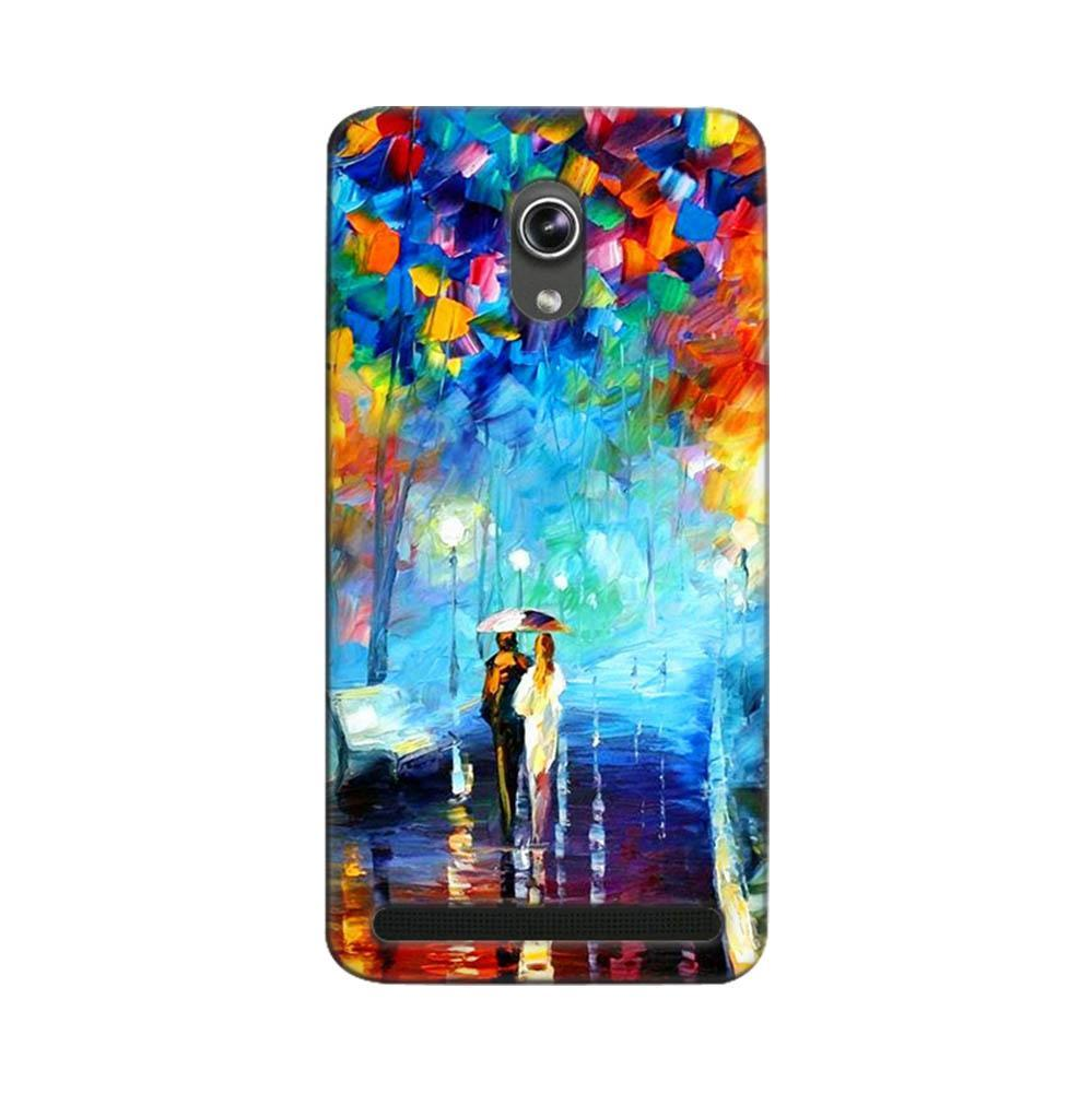 Asus Zenfone 6 Mobile Phone Cases And Back Covers Case Mangomask Cover Custom Printed Designer Series Romantic Couple Walk