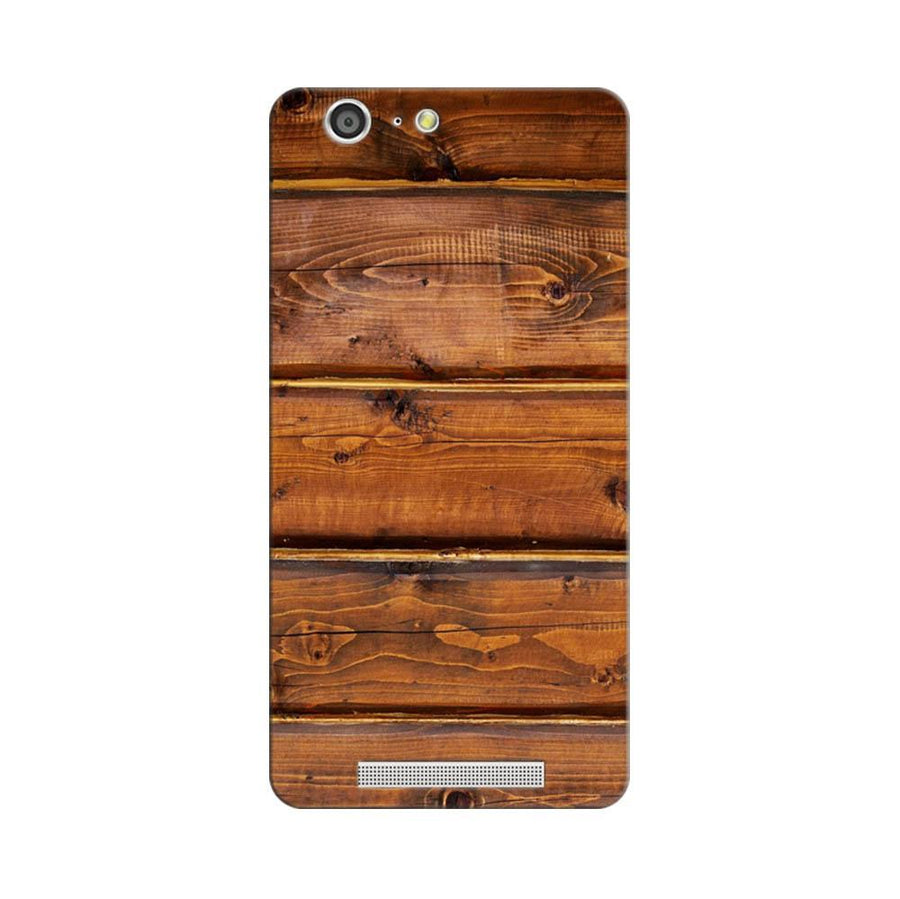 Mangomask Gionee Marathon M5 Mobile Phone Case Back Cover Custom Printed Designer Series Rose Wood