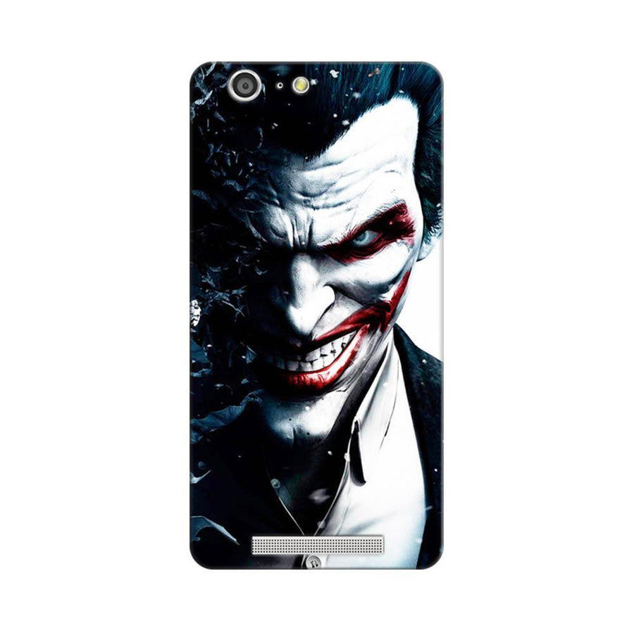 Mangomask Gionee Marathon M5 Mobile Phone Case Back Cover Custom Printed Designer Series Red Eye Joker