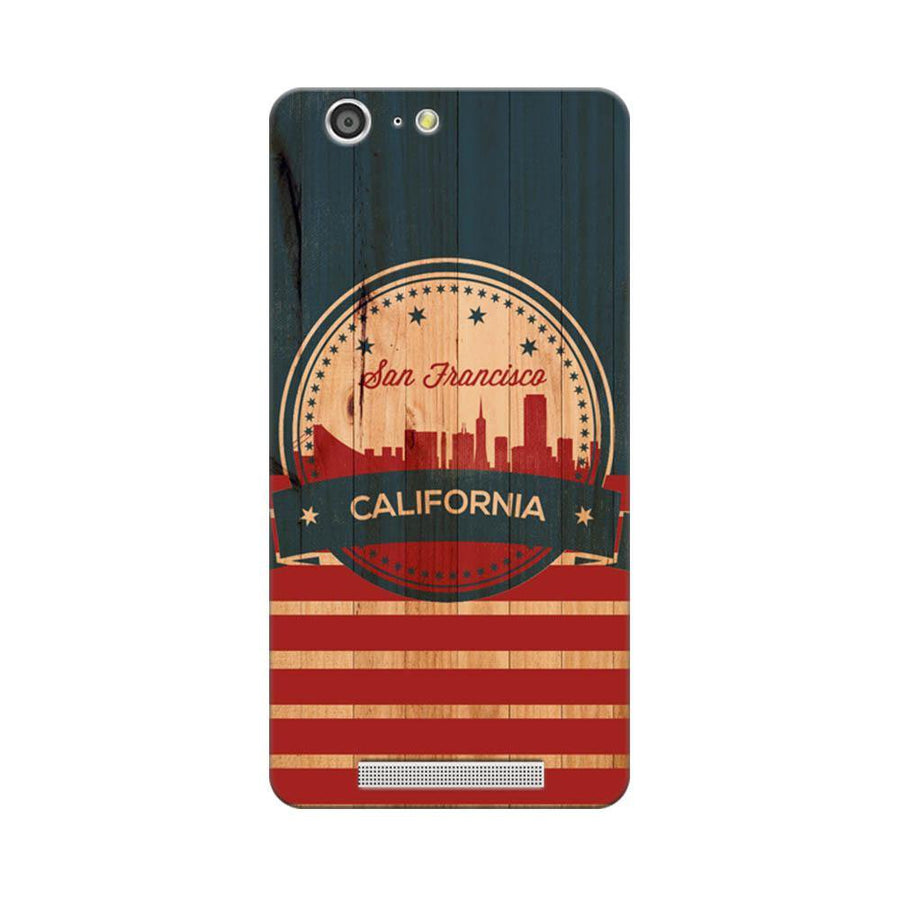 Mangomask Gionee Marathon M5 Mobile Phone Case Back Cover Custom Printed Designer Series San Francisco California