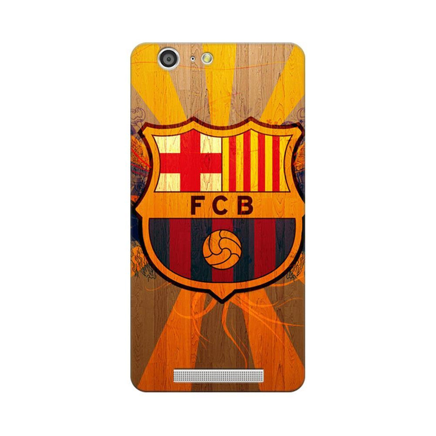 Mangomask Gionee Marathon M5 Mobile Phone Case Back Cover Custom Printed Designer Series Soccer