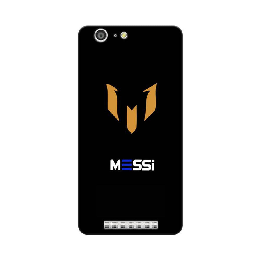 Mangomask Gionee Marathon M5 Mobile Phone Case Back Cover Custom Printed Designer Series Soccer Messi Two