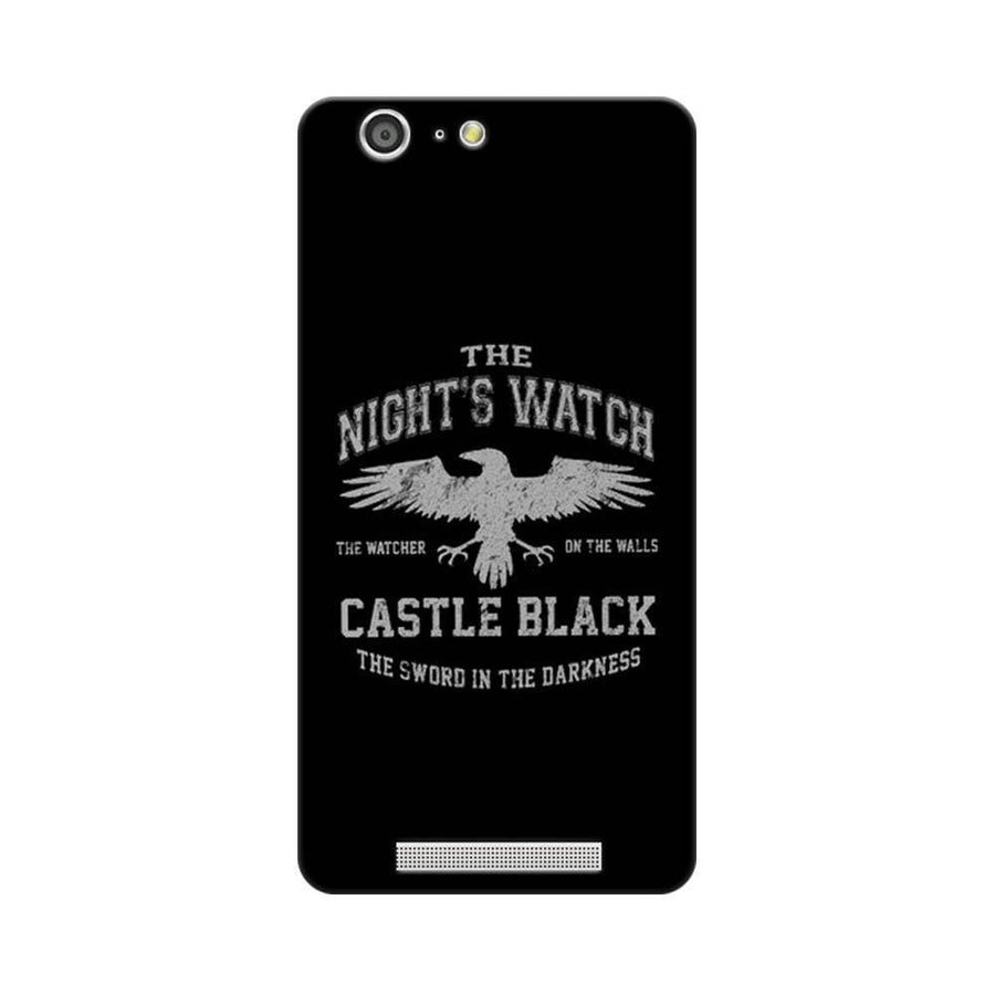 Mangomask Gionee Marathon M5 Mobile Phone Case Back Cover Custom Printed Designer Series Nights Watch Game Of Thrones (Got)