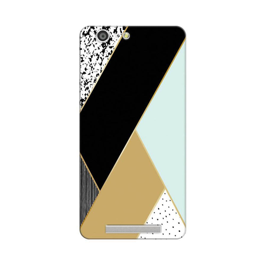 Mangomask Gionee Marathon M5 Mobile Phone Case Back Cover Custom Printed Designer Series Zig Zag One
