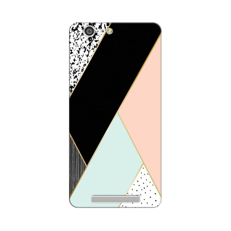Mangomask Gionee Marathon M5 Mobile Phone Case Back Cover Custom Printed Designer Series Zig Zag Two