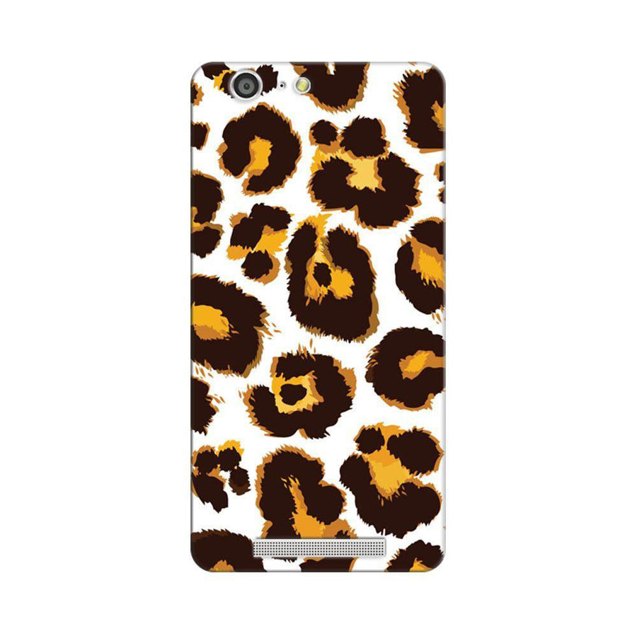 Mangomask Gionee Marathon M5 Mobile Phone Case Back Cover Custom Printed Designer Series Tiger Cheetah Animal Print