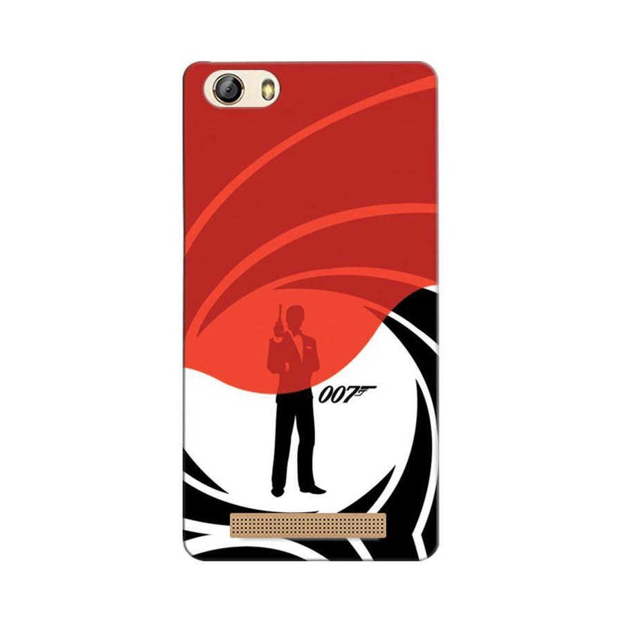 Gionee Marathon M5 Lite Mangomask Gionee Marathon M5 Lite Mobile Phone Case Back Cover Custom Printed Designer Series James Bond 007