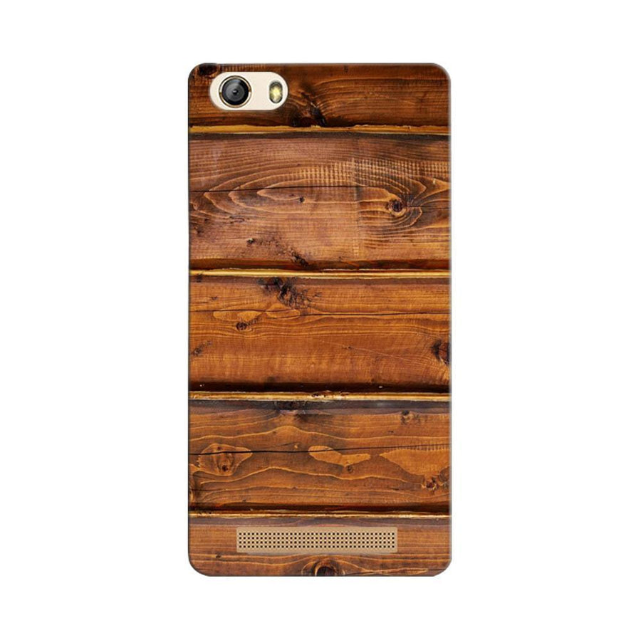 Mangomask Gionee Marathon M5 Lite Mobile Phone Case Back Cover Custom Printed Designer Series Rose Wood