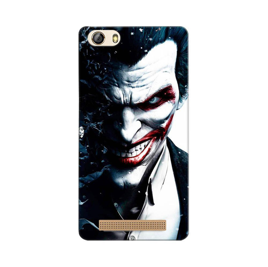 Mangomask Gionee Marathon M5 Lite Mobile Phone Case Back Cover Custom Printed Designer Series Red Eye Joker