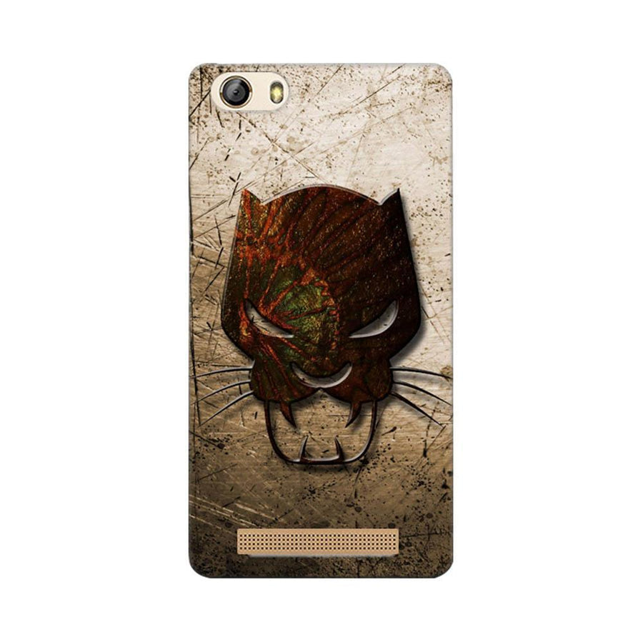 Mangomask Gionee Marathon M5 Lite Mobile Phone Case Back Cover Custom Printed Designer Series Tiger Mask