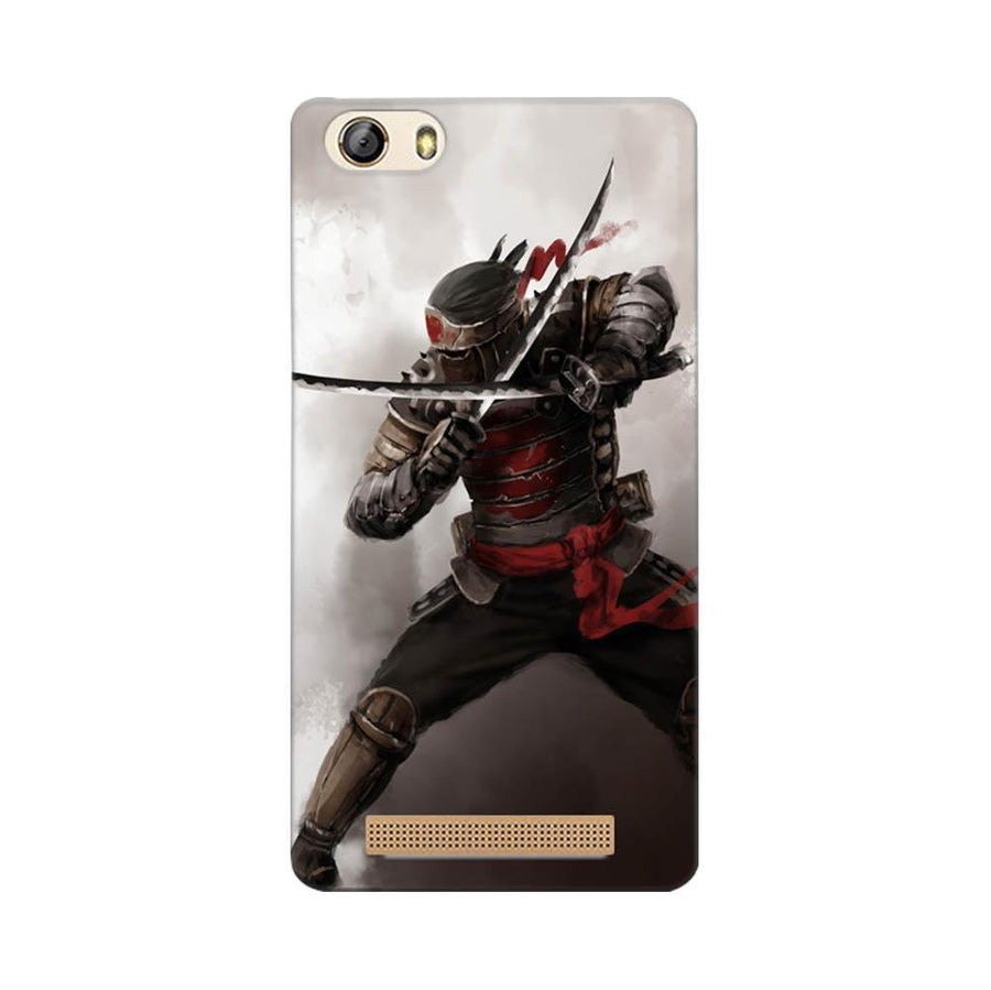 Gionee Marathon M5 Lite Mangomask Gionee Marathon M5 Lite Mobile Phone Case Back Cover Custom Printed Designer Series Knight Warrior