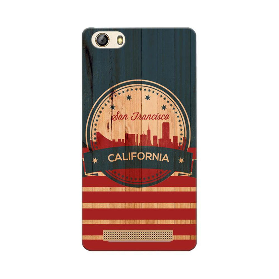 Mangomask Gionee Marathon M5 Lite Mobile Phone Case Back Cover Custom Printed Designer Series San Francisco California